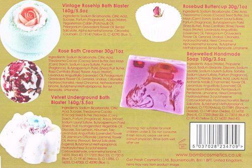 Vintage Velvet Gift Pack - Bomb Cosmetics