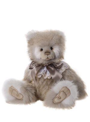 Jean Plush Panda, 51 cm – Charlie Bears CB191953A