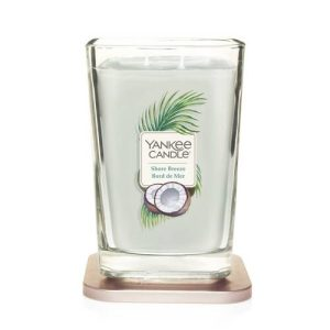 Yankee Candle Elevation collection - Shore Breeze - Large 2-Wick Square Candle