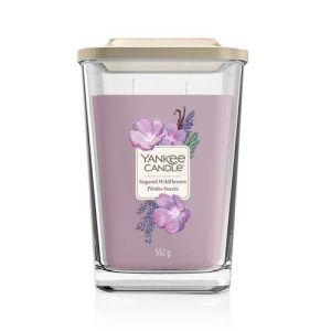 Yankee Candle Elevation Collection - Sugared Flowers - Large 2-Wick Square Candle