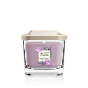 Yankee Candle Elevation Collection - Sugared Wildflowers - Small 1-Wick Square Candle