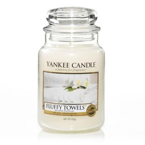Fluffy Towels - Yankee Candle - Large Jar, 623g