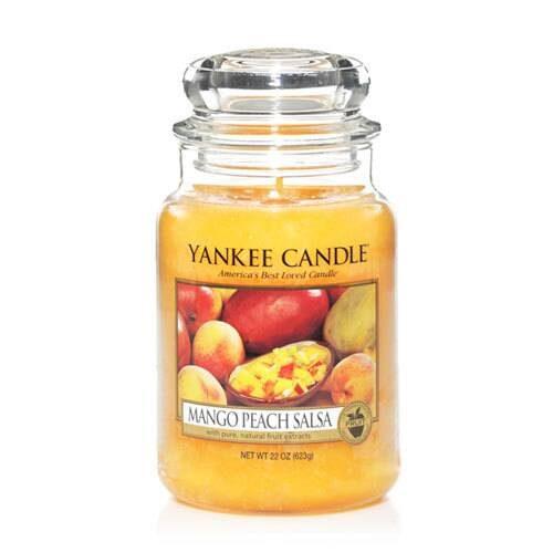 Mango Peach Salsa - Yankee Candle - Large Jar, 623g