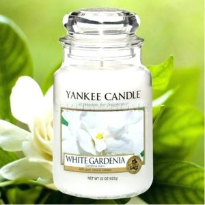 White Gardenia - Yankee Candle - Large Jar, 623g