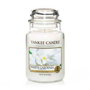 White Gardenia – Yankee Candle – Large Jar, 623g