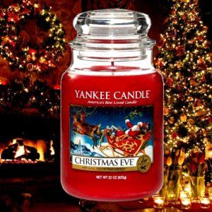 Christmas Eve Yankee Candle - Large Jar, 623g