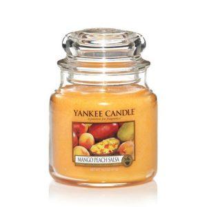Peach Mango Salsa - Yankee Candle - Medium Jar, 411g