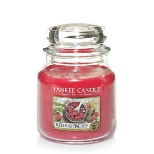 Red Raspberry - Yankee Candle - Medium Jar, 411g