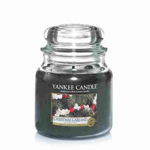 Christmas Garland - Yankee Candle - Medium Jar, 411g