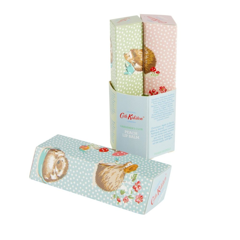 Cath Kidston - Gardeners Club Woodland Travel Lip Balm Trio Gift Set