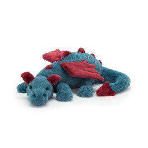 Jellycat Dexter Dragon - Medium, 20 Inch