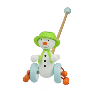 The Snowman Push Along (Boxed) - Orange Tree Toys