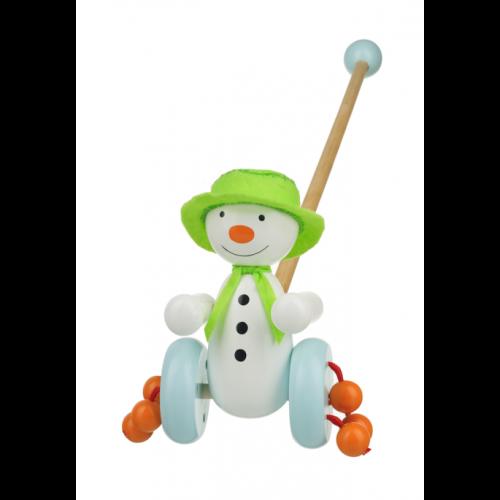 The Snowman Push Along (Boxed) - Orange Tree Toys