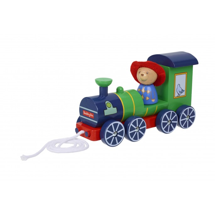 Paddington Bear ™ Steam Train Pull Along- Orange Tree Toys