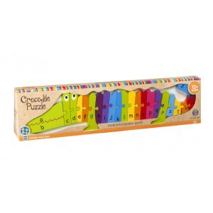 Alphabet Crocodile Puzzle - Orange Tree Toys