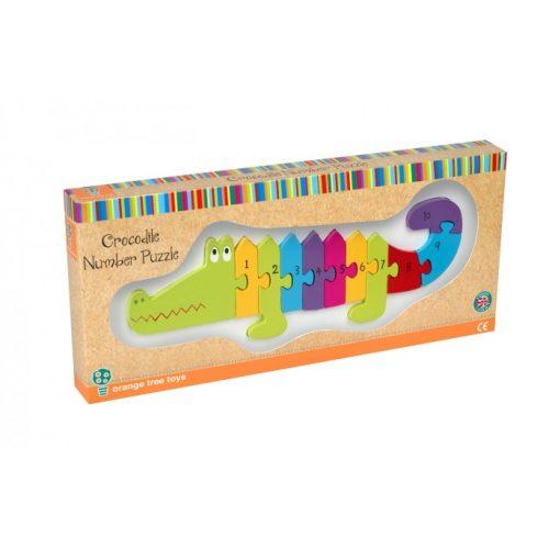 Crocodile Number Puzzle - Orange Tree Toys