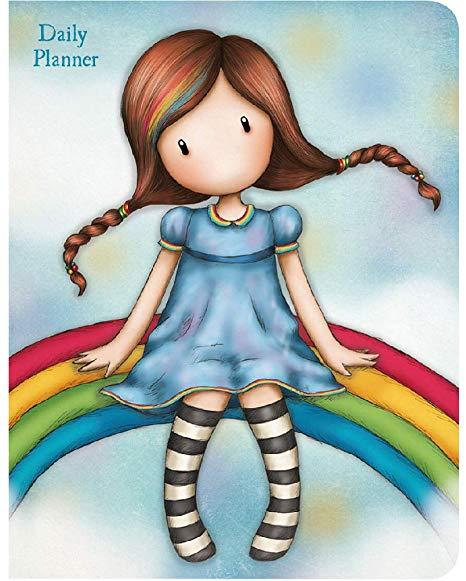 Gorjuss Daily Planner Rainbow Heaven - Santoro