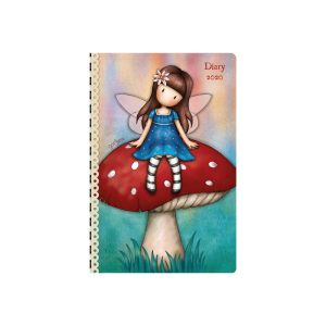 2020 Gorjuss Pocket Diary, Larkspur Fairy - Santoro