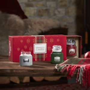 Yankee Candle 3 Small Jar Candle Gift Set - 2019