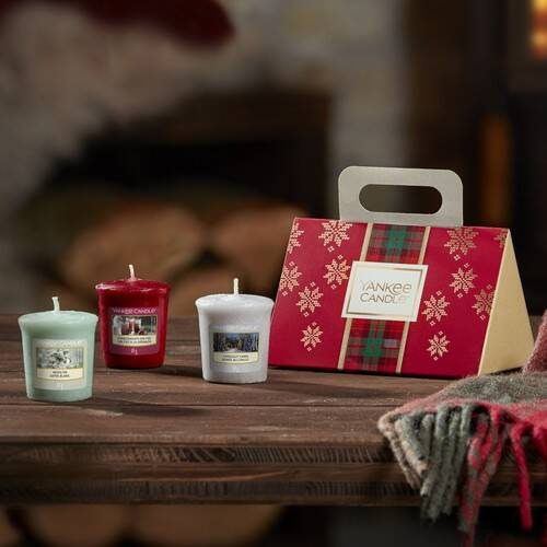 Yankee Candle 3 Votive Purse Gift Set - 2019