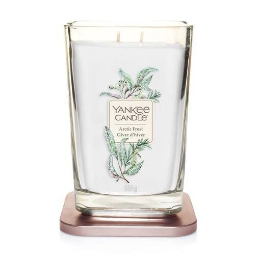 Yankee Candle Elevation collection - Arctic Frost - Large 2-Wick Square Candle