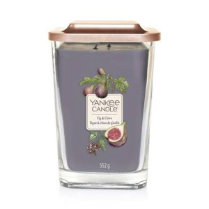 Yankee Candle Elevation Collection - Fig & Clove - Large 2-Wick Square Candle