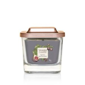 Yankee Candle Elevation Collection - Fig & Clove - Small 1-Wick Square Candle
