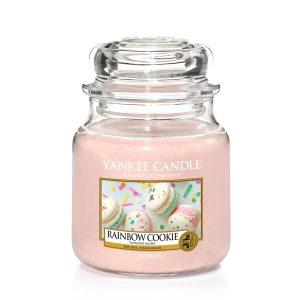 Rainbow Cookie - Yankee Candle - Medium Jar, 411g