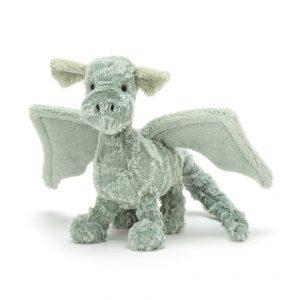Jellycat Drake Dragon - Small, 21 cm