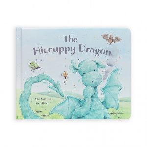 The Hiccupy Dragon Story Book - Jellycat