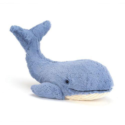 Jellycat Wilbur Whale - Large, 46 cm