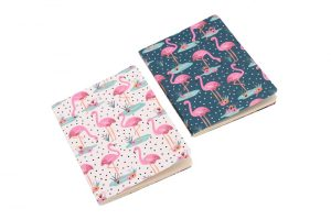 Wild Thoughts Flamingo A6 Notebooks Set