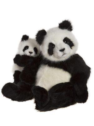 Fenella and Faith Panda Bears – Charlie Bears Plush CB17180102