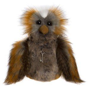 Wanda Owl, 23 cm – Charlie Bears Plush CB175188
