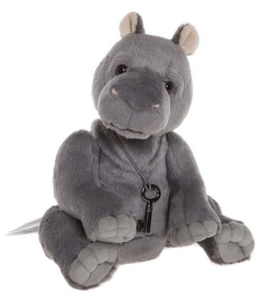 Hank Hippo, 28 cm – Charlie Bears Plush CB185160