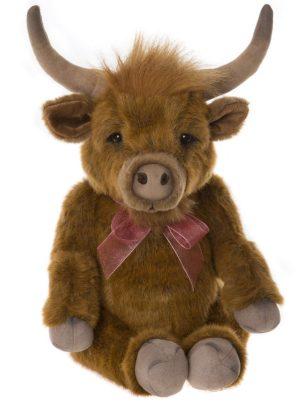 Patty Highland Cow, 36 cm - Charlie Bears Bearhouse BB193901