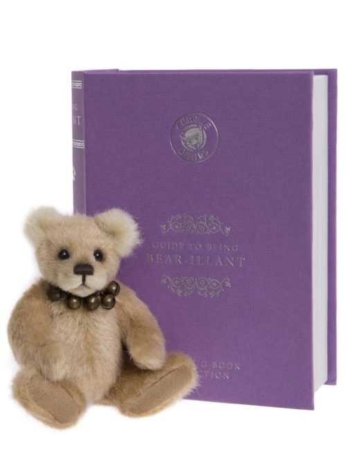 Bear-illiant, 13 cm – Charlie Bears Plush Hug Book Bear CB191971B
