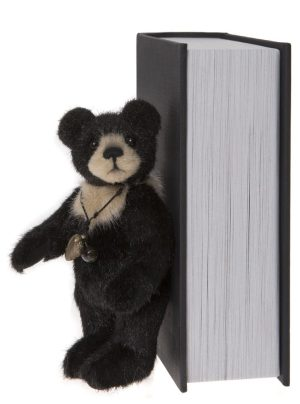 Bear Therapy, 13 cm – Charlie Bears Plush Hug Book Bear CB191971E