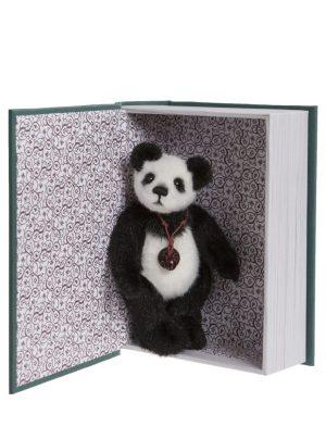 Snuggleability, 13 cm – Charlie Bears Plush Hug Book Bear CB191971F