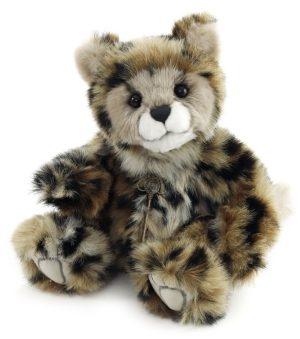 Karla Cheetah Cub, 28 cm - Charlie Bears CB195171