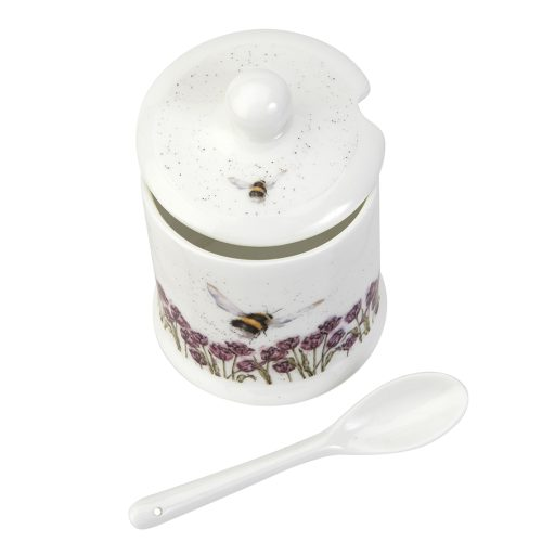 Bee Conserve Pot and Spoon - Wrendale Designs