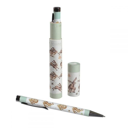 Hare Gift Boxed Pen - Wrendale Designs