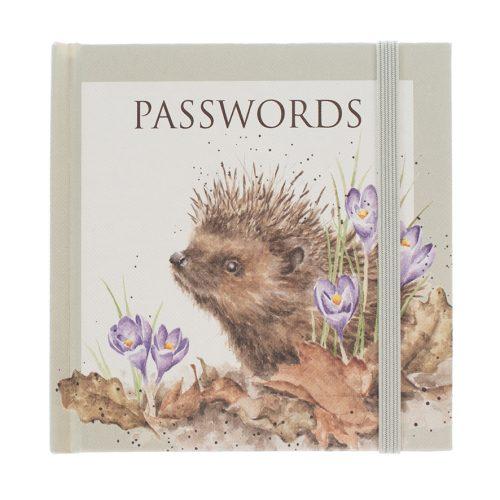 Hedgehog Password Book - Wrendale Designs