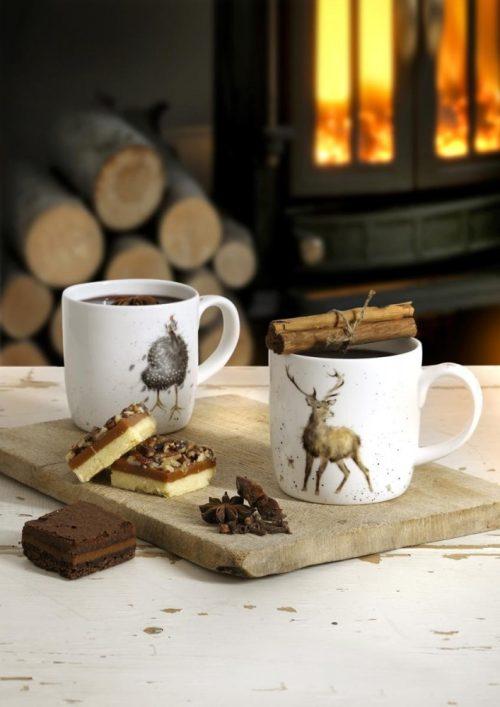 Rosie Bunny Rabbit China Mug - Wrendale Designs