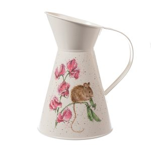The Pea Thief Mouse Flower Jug - Wrendale Designs