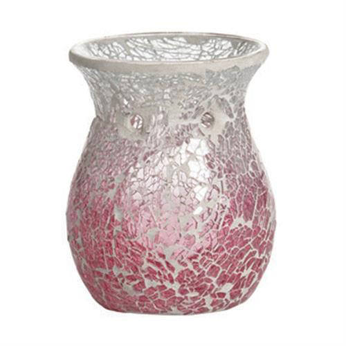 Yankee Candle Pink Fade Crackle Wax Melt Warmer