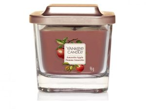 Yankee Candle Elevation Collection - Amaretto Apple Small 1-Wick Square Candle