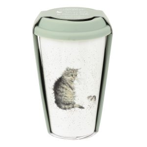 Wrendale Designs Cat Travel Mug with Silicone Lid