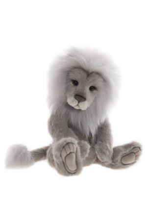 Clock Lion, 38 cm - Charlie Bears Plush CB191956