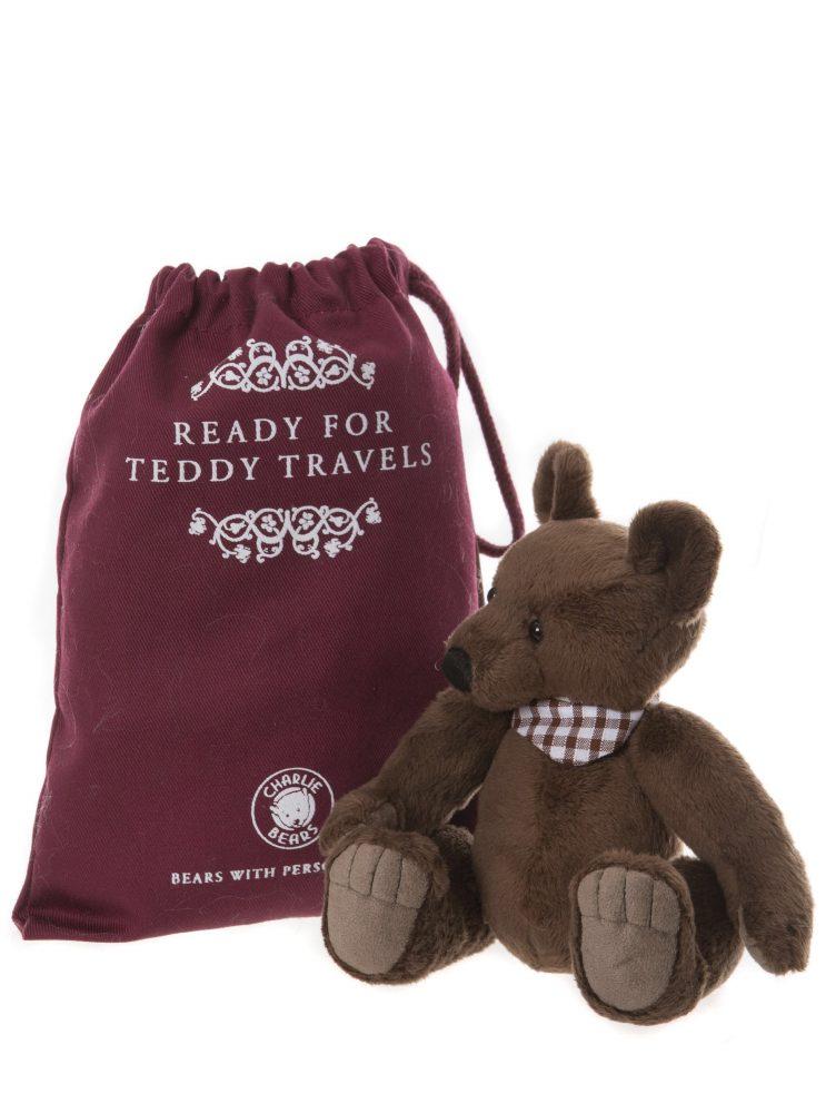 Gallivant Bear, 18 cm – Charlie Bears Plush CB195197O